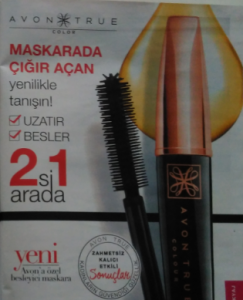 avon true colour maskara