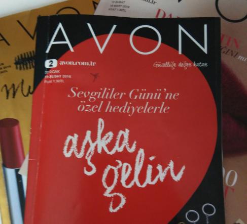 2016 Avon Kampanya 2 Sevgililer Gününe Özel İndirimler