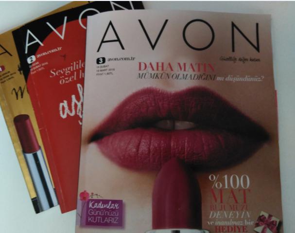 2016 Avon Mart Kataloğu Kampanya 3