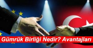 Gümrük Birliği Amacı ve Türkiye'ye Avantajları ve Zararları