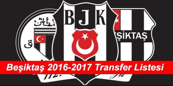 Beşiktaş'ın 2016-2017 Transfer Bombaları Özel İsim Listesi