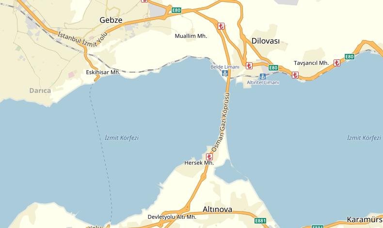 osman-gazi-koprusu-guzergahi