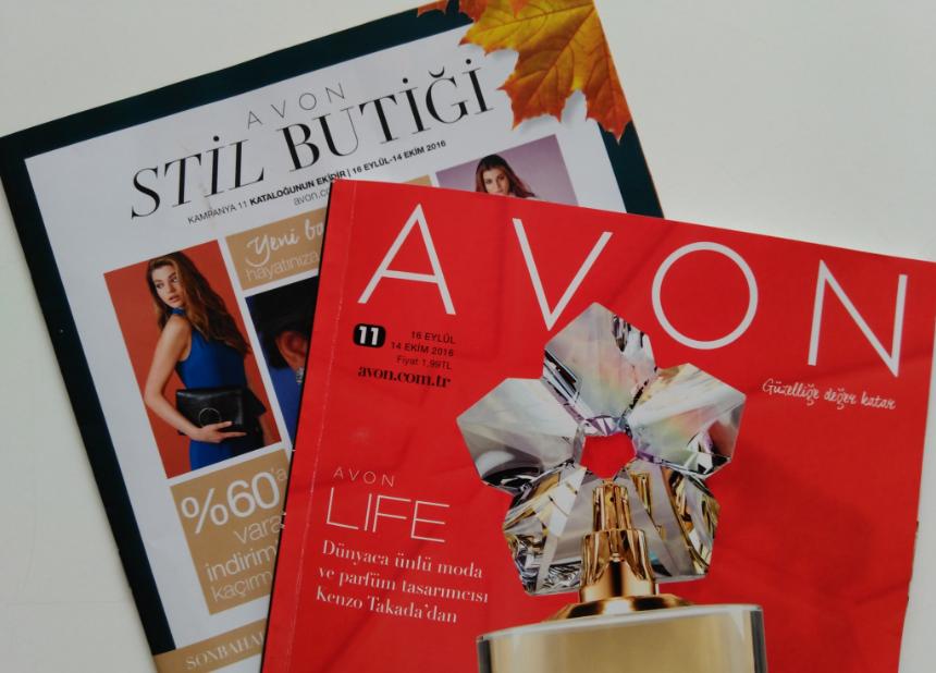 Avon K11 2016 Eylül-Ekim Kataloğu ve Stil Butiği Broşürü