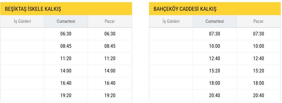 belgrad-otobüs-ile-ulasim