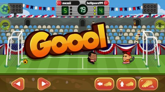 Online Kafa Topu Hilesi (Havada Hızlı Aşırtma Vuruş %100 Gol)