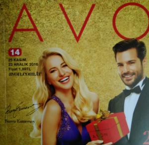 Avon K14 2016 Aralık Yılbaşı Kataloğu ve Stil Butiği Broşürü