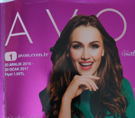Avon K1 2017 Ocak Kataloğu Ve Fırsat Broşürü
