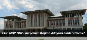 Başkanlık Seçiminde Recep Tayyip Erdoğan'ın Karşısına Hangi İsimler Çıkarılabilir?