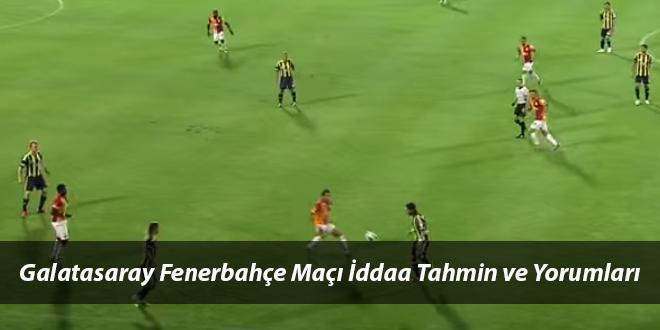 Galatasaray Fenerbahçe Maçı İddaa Tahmini ve Yorumlar 23 Nisan 2017