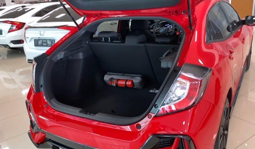 2021 Model Honda Civic -bagaj-hacmi