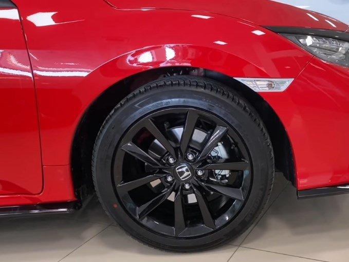 2021 Model Honda Civic -jantlar