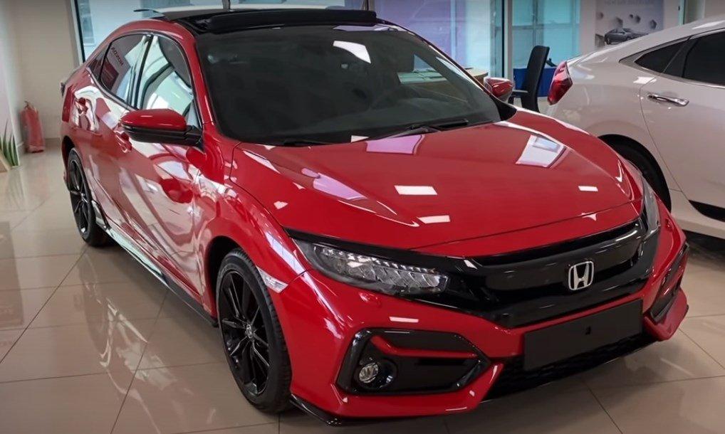 2021 Model Honda Civic tasarimi