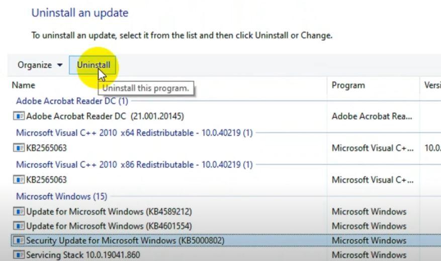 Windows 10 APC_INDEX_MISMATCH Hatası Çözümü3