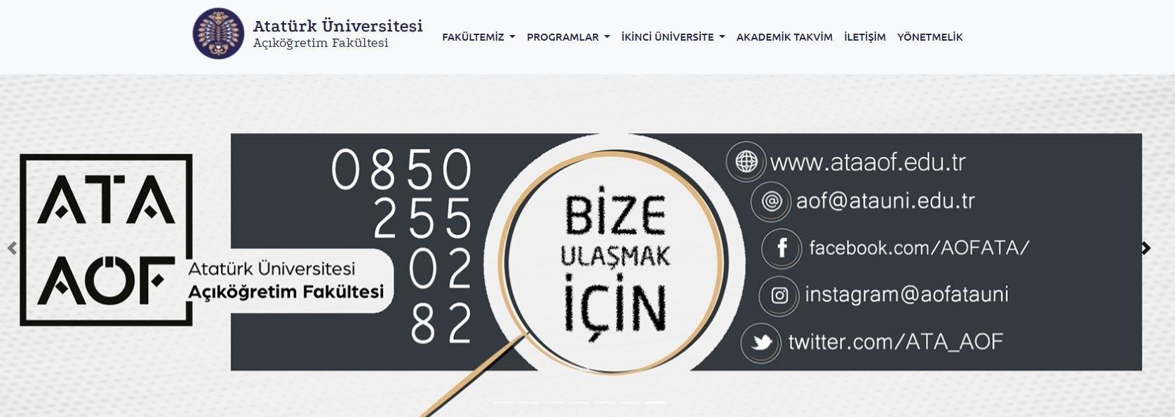 Erzurum-Atatürk-Üniversitesi-Açık-öğretim-Fakültesi-harc-2021-2022