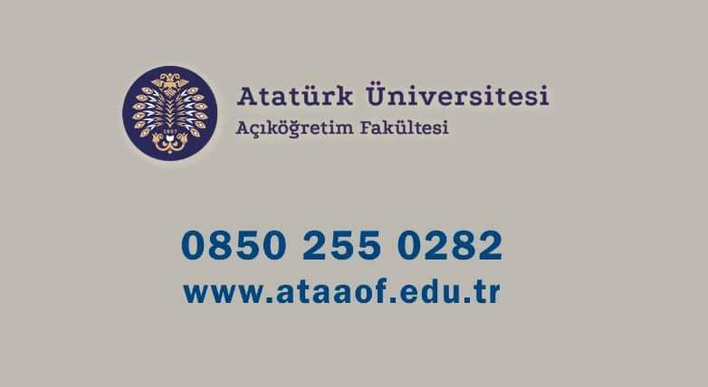 Erzurum-Atatürk-Üniversitesi-Açık-öğretim-Fakültesi-onlisans-2yillik-harc-fiyatlari-2021-2022