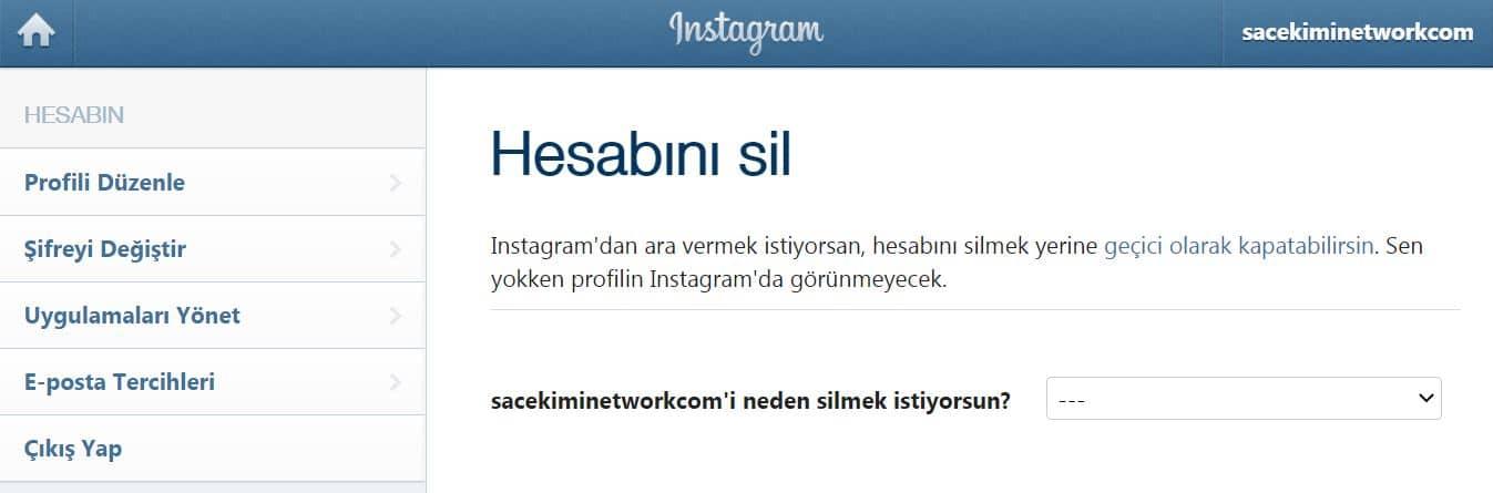 instagram-hesap-silme-linki